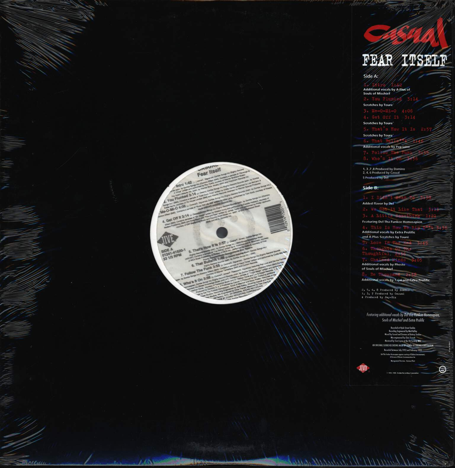 Casual: Fear Itself, LP (Vinyl)