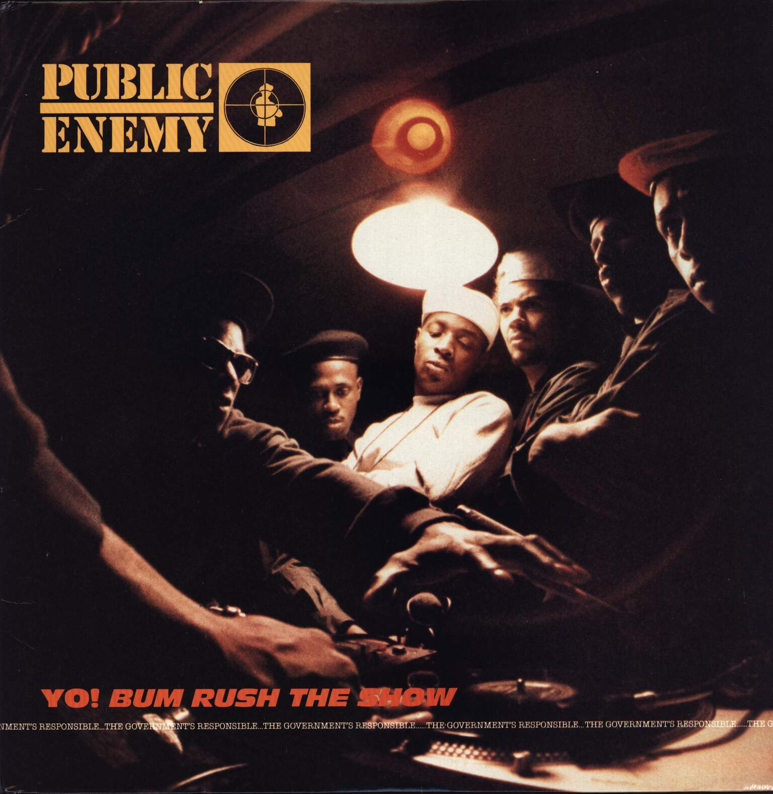 Public Enemy: Yo!  Bum Rush The Show, LP (Vinyl)