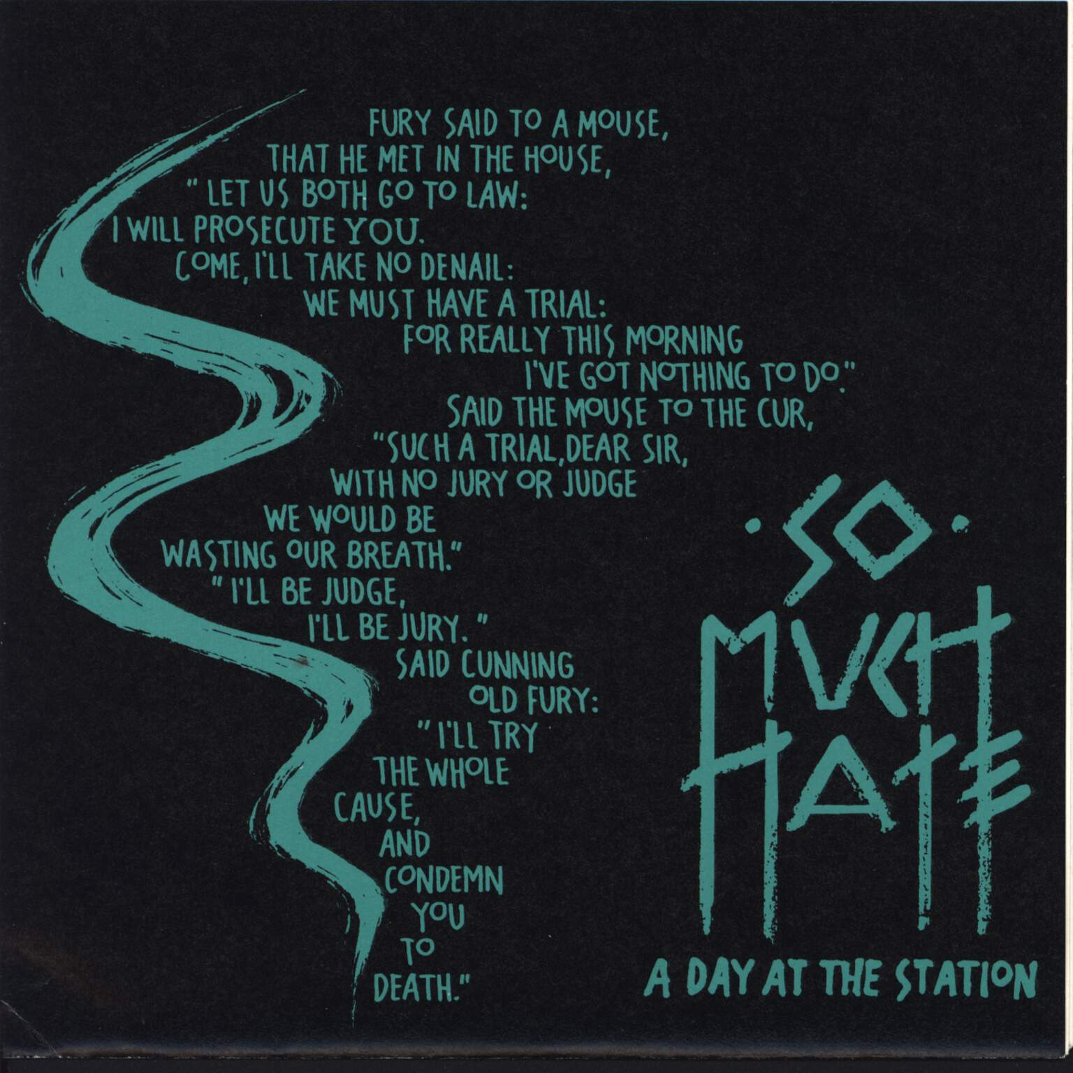 "So Much Hate: A Day At The Station / Progress, 7"" Single (Vinyl)"
