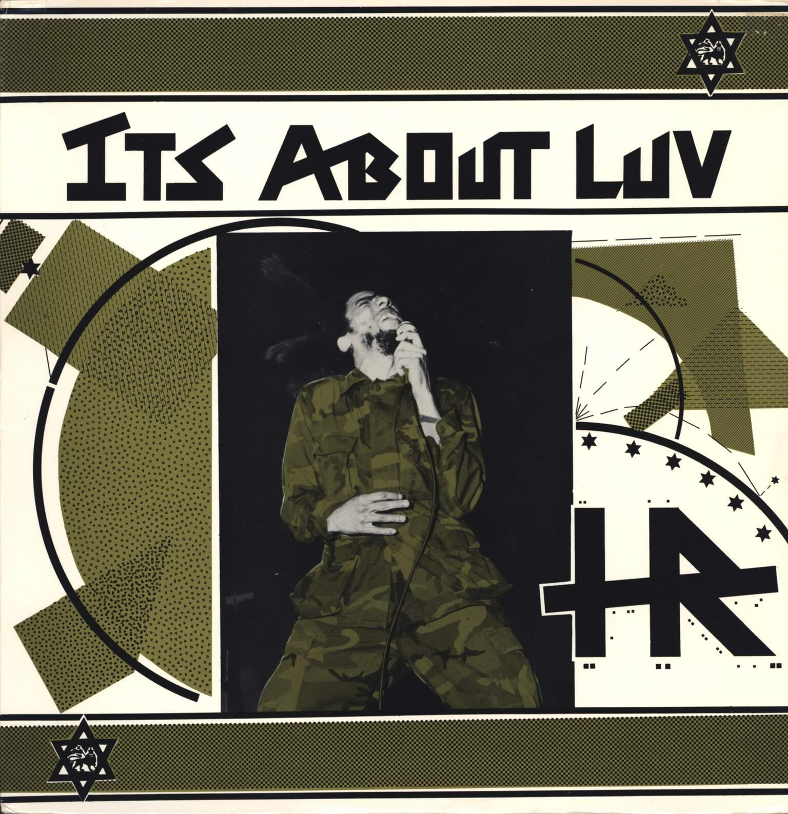 H.R.: It's About Luv, LP (Vinyl)