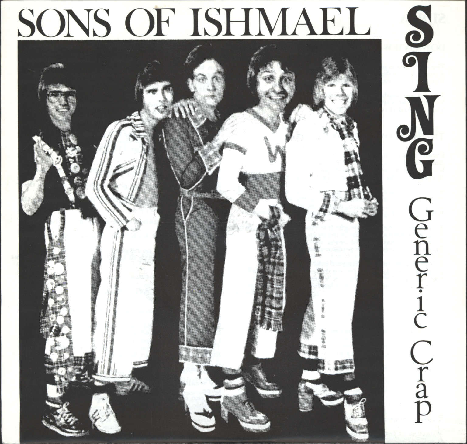 "Sons Of Ishmael: Sing Generic Crap, 7"" Single (Vinyl)"