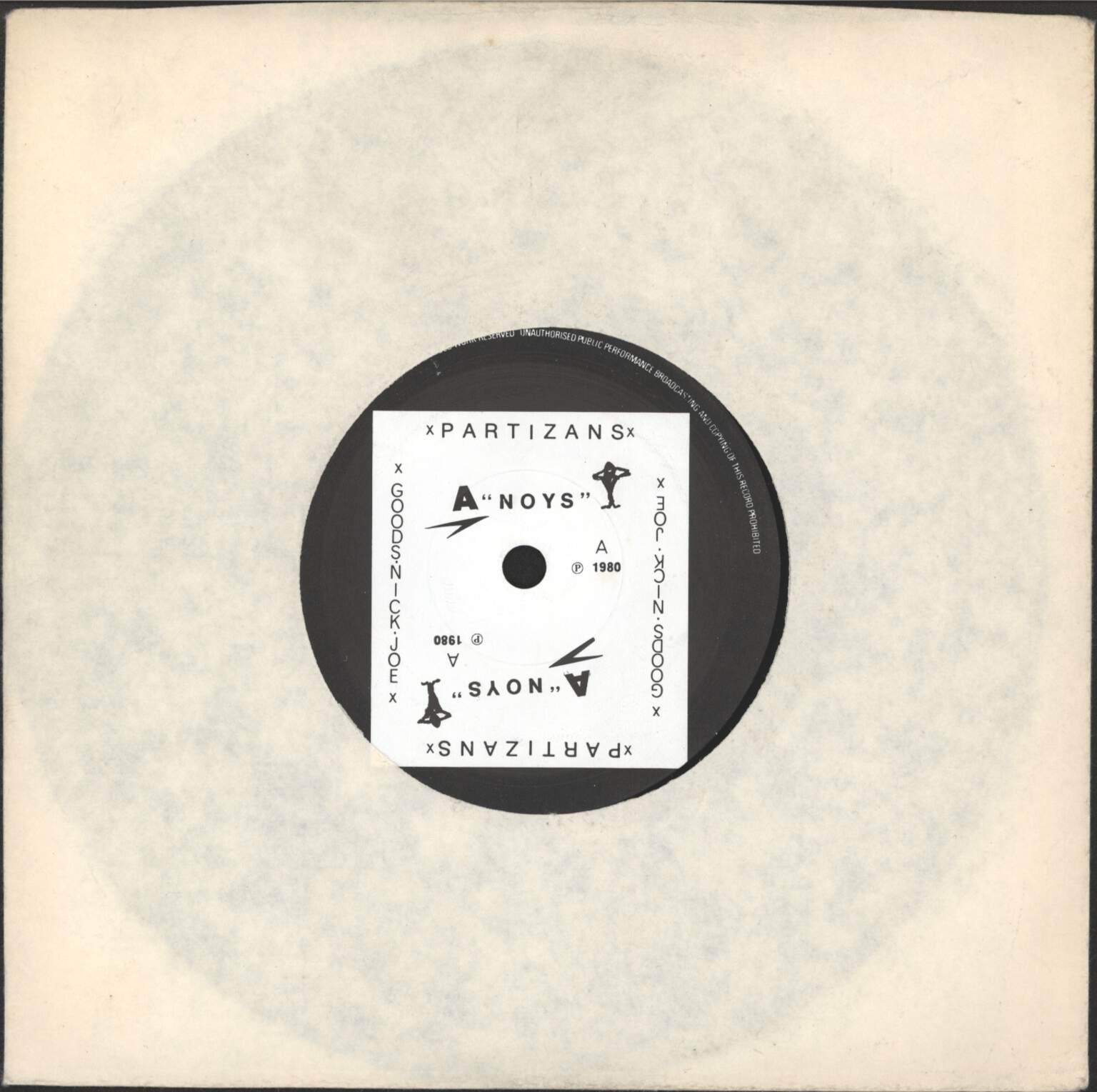 "Partizans: Partizans / Goods, 7"" Single (Vinyl)"