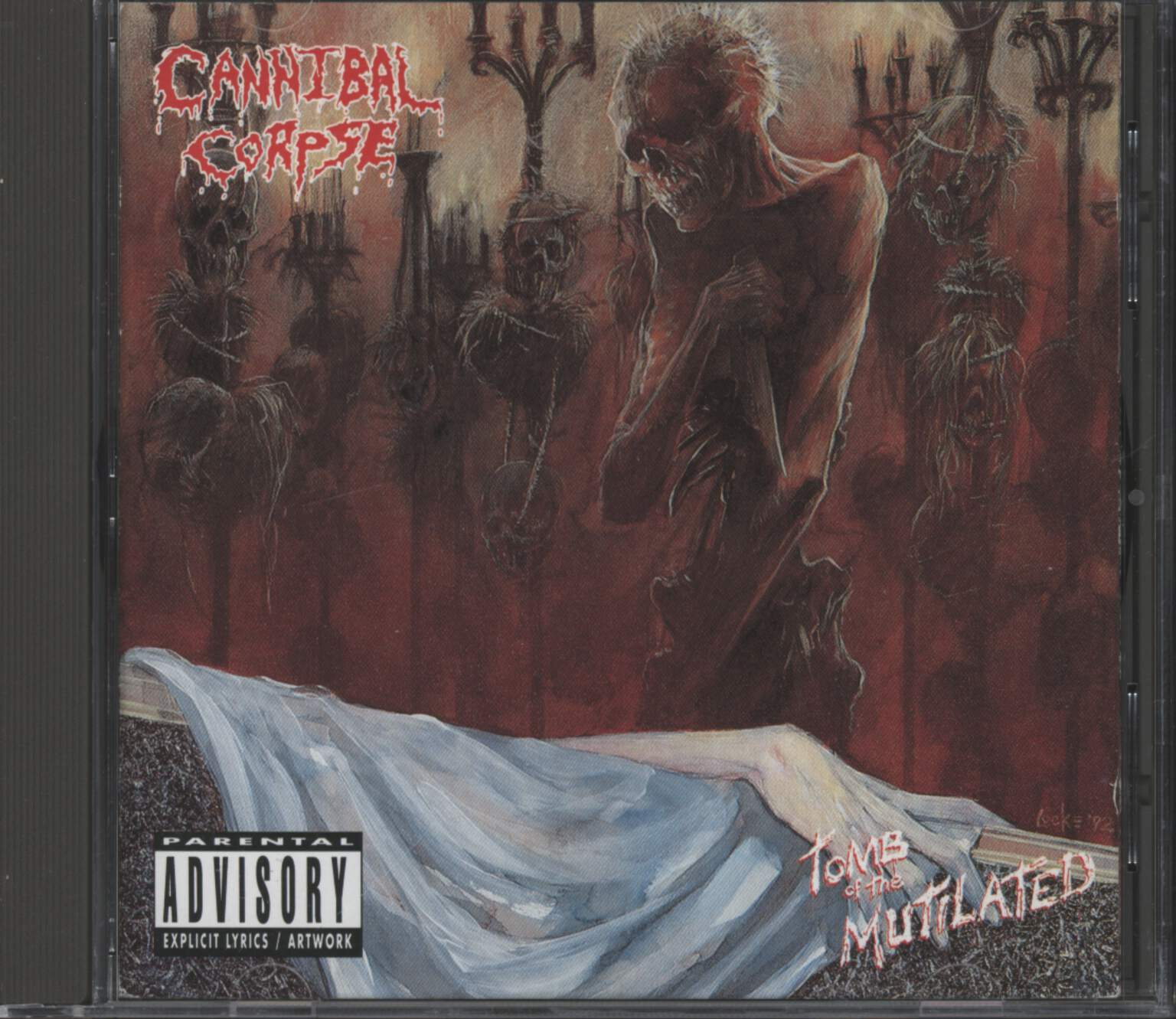 Cannibal Corpse: Tomb Of The Mutilated, CD