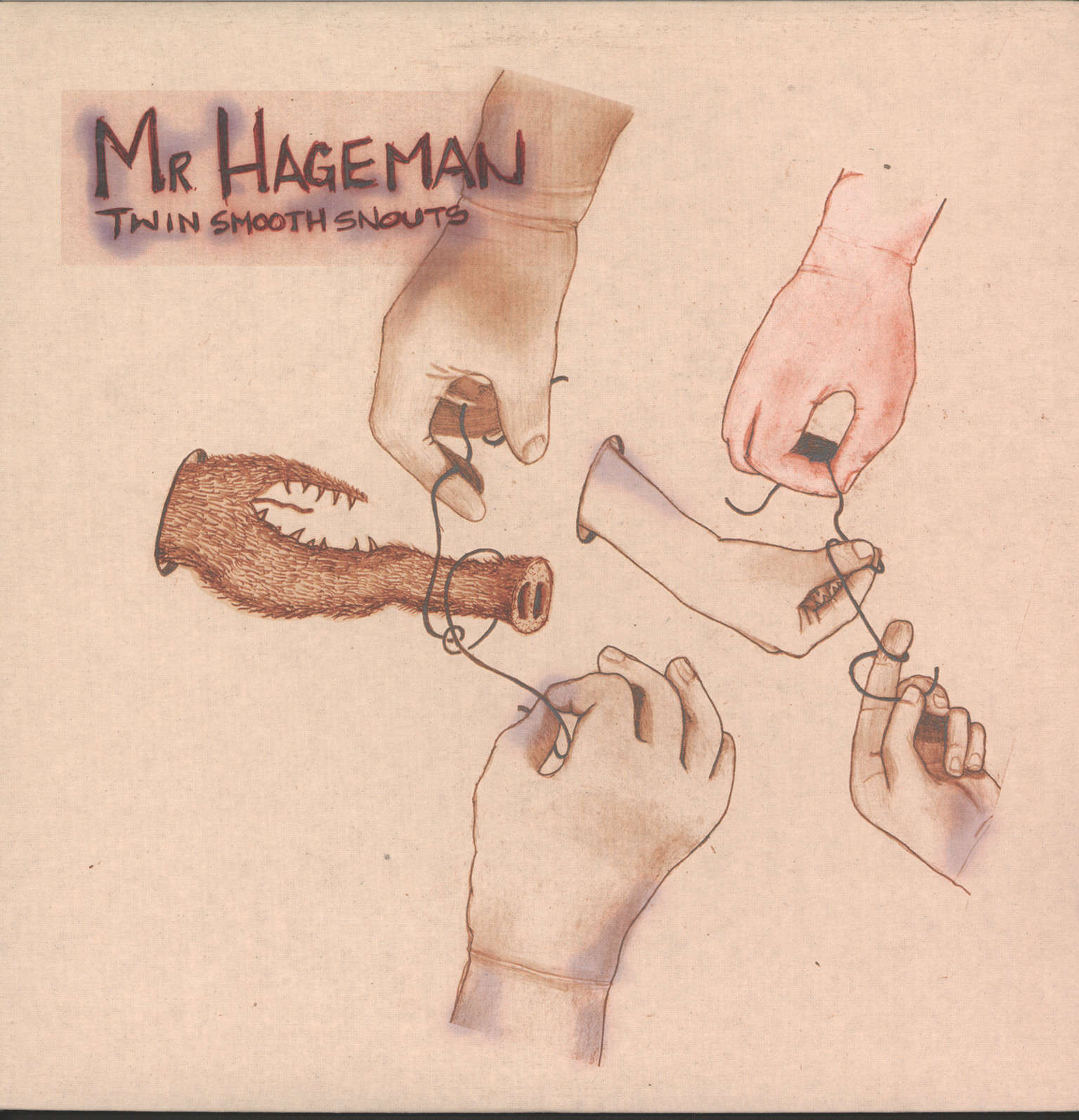 Mr. Hageman: Twin Smooth Snouts, LP (Vinyl)