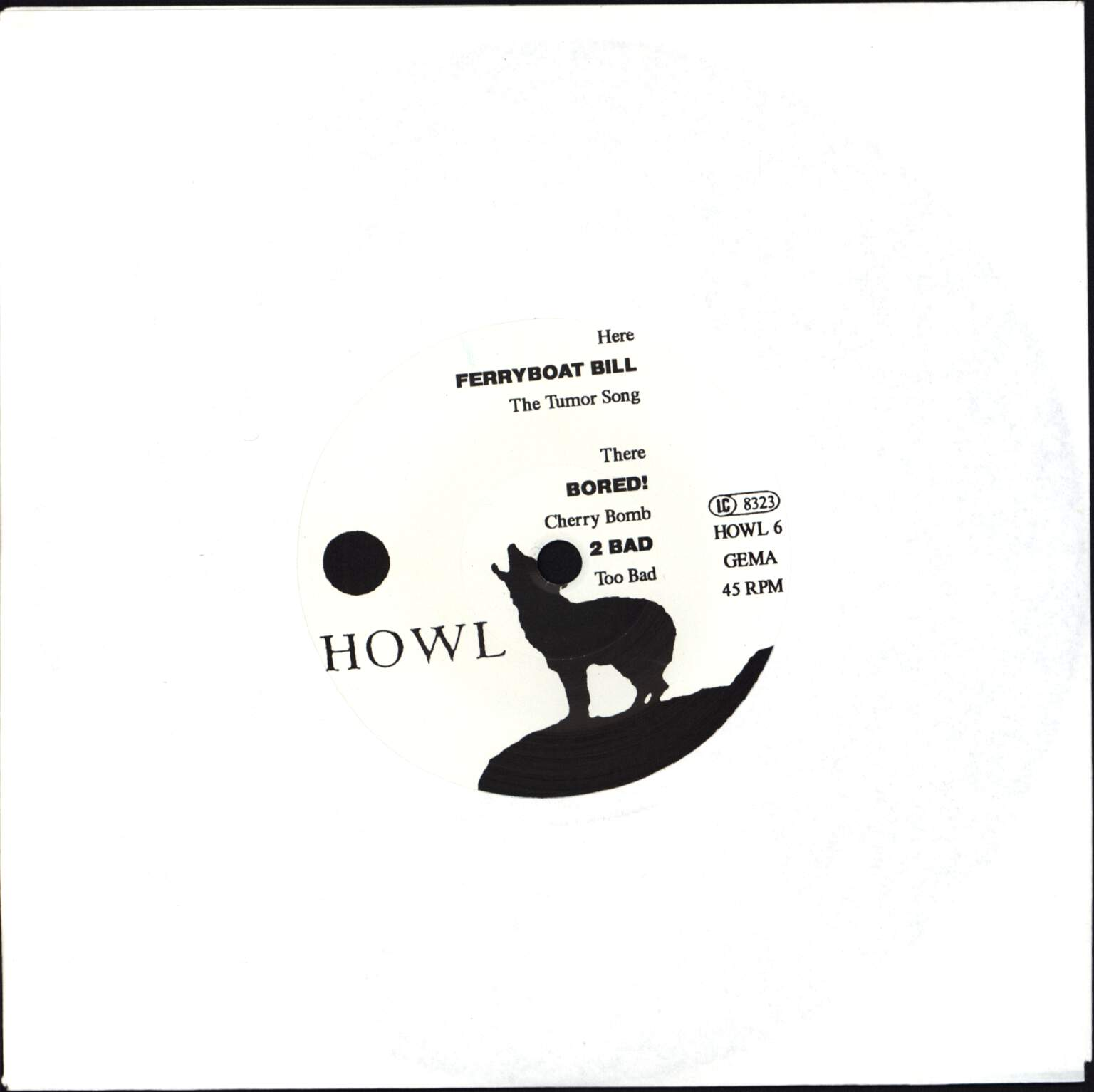 "Various: Howl 6, 7"" Single (Vinyl)"