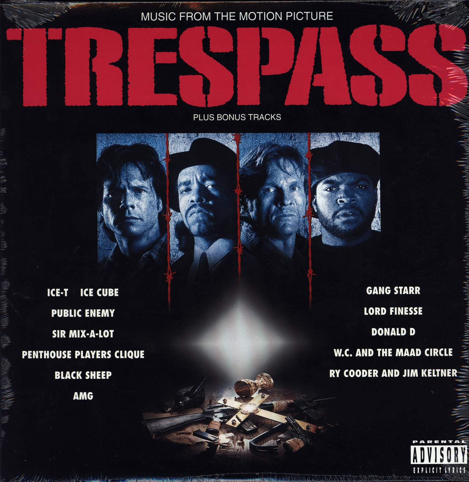 Various: Trespass (Music From The Motion Picture), LP (Vinyl)