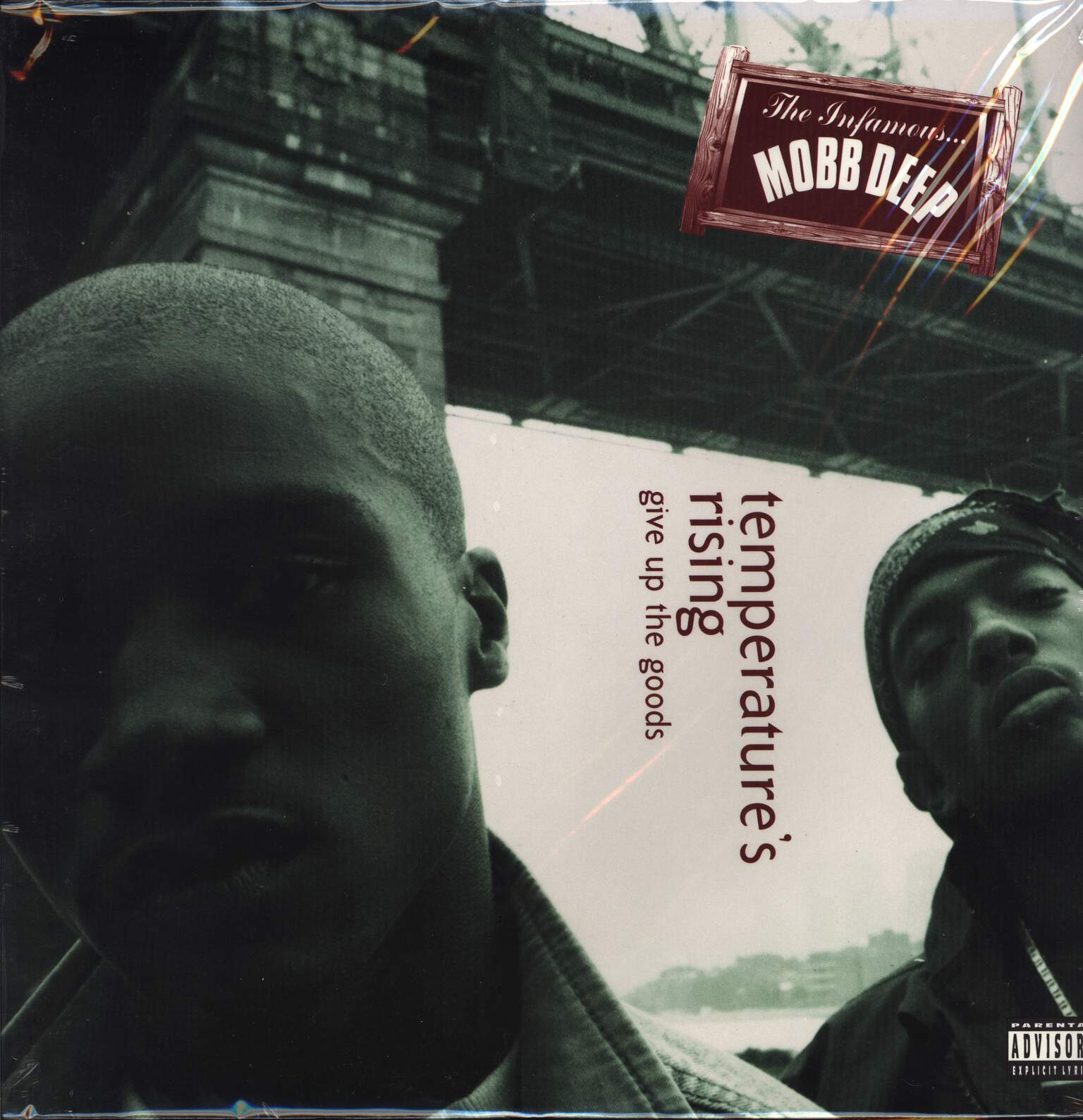"Mobb Deep: Temperature's Rising / Give Up The Goods, 12"" Maxi Single (Vinyl)"