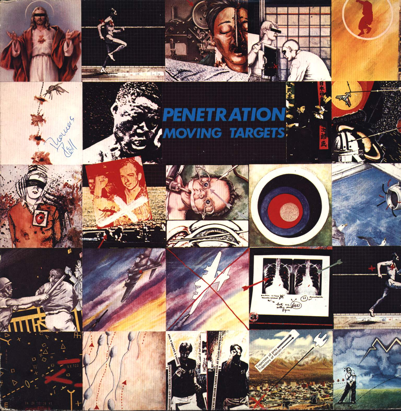 Penetration: Moving Targets, LP (Vinyl)