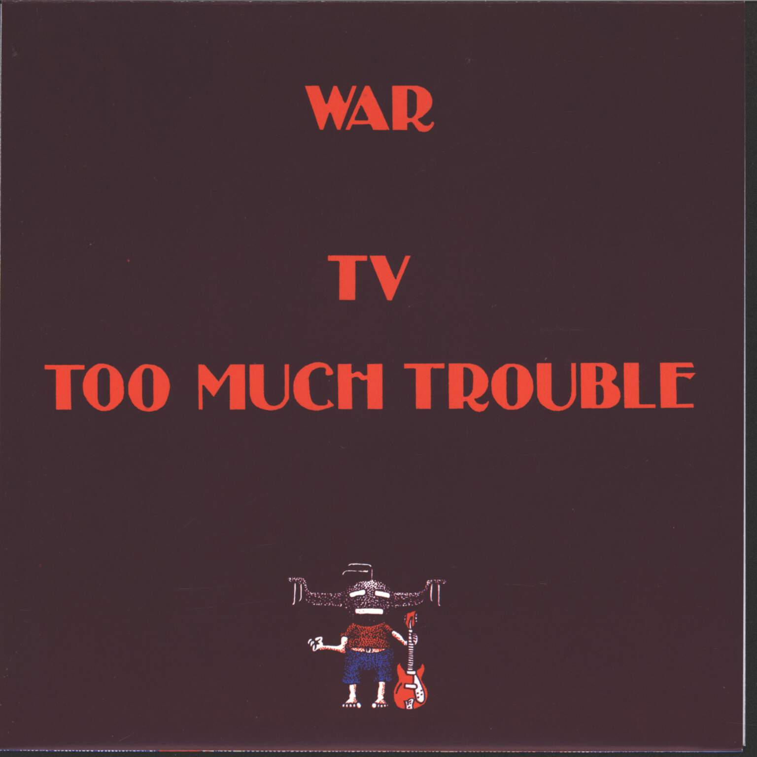 "Surfin Dead: War, 7"" Single (Vinyl)"