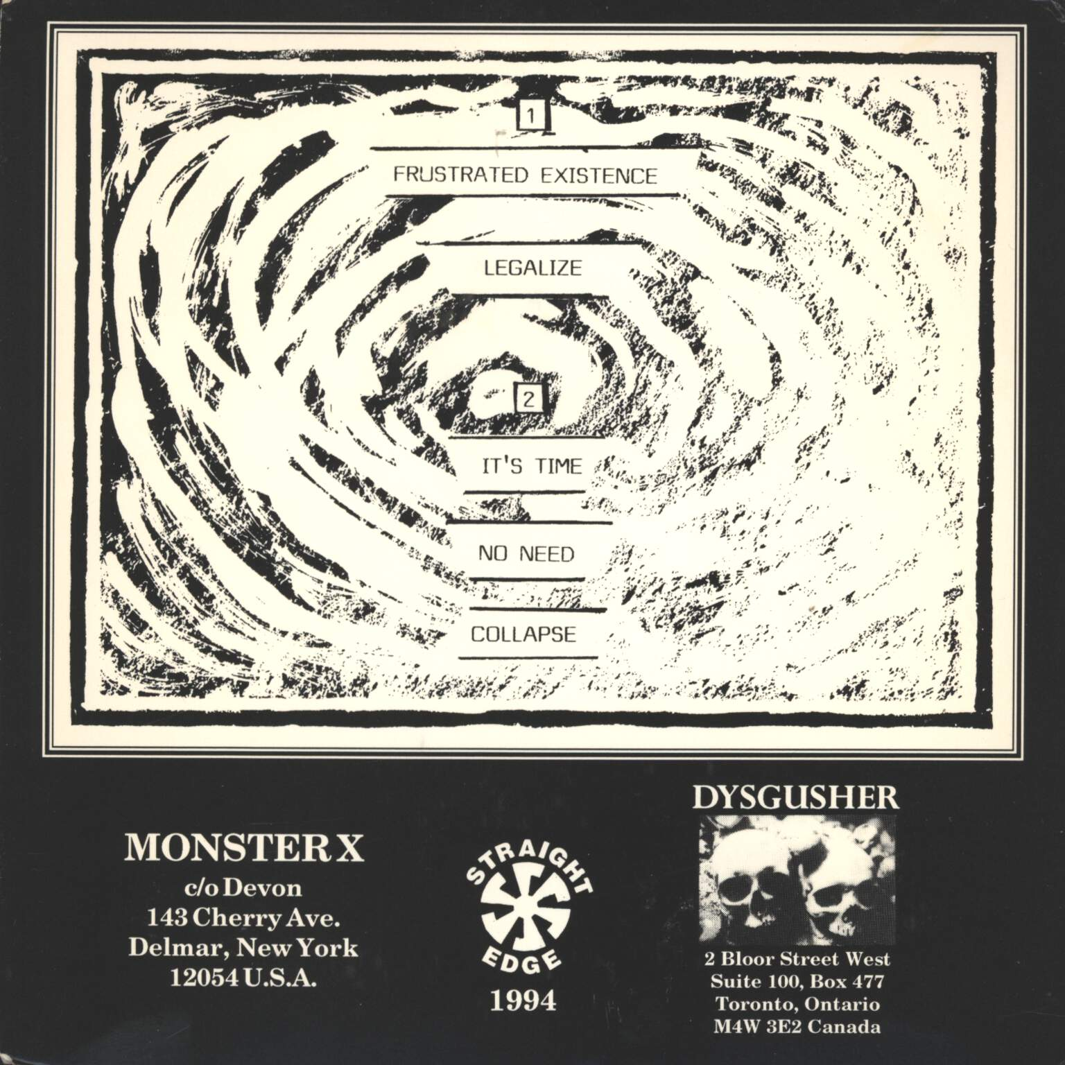 "Monster X: Monster X, 7"" Single (Vinyl)"