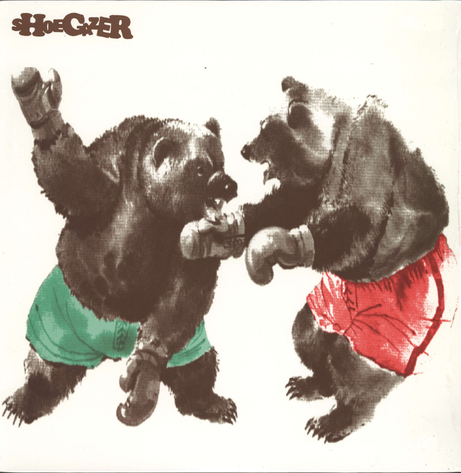 Shoegazer: Two Boxing Brown Bears, LP (Vinyl)