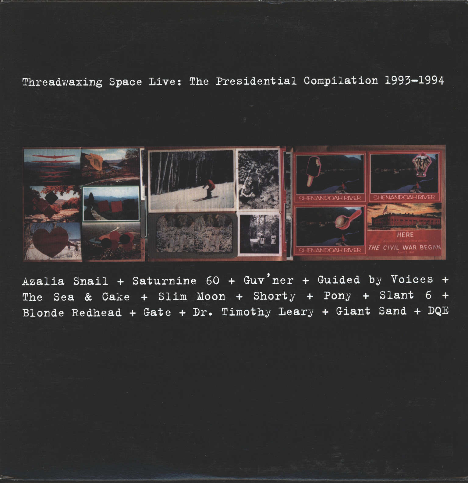 Various: Threadwaxing Space Live: The Presidential Compilation 1993-1994, LP (Vinyl)