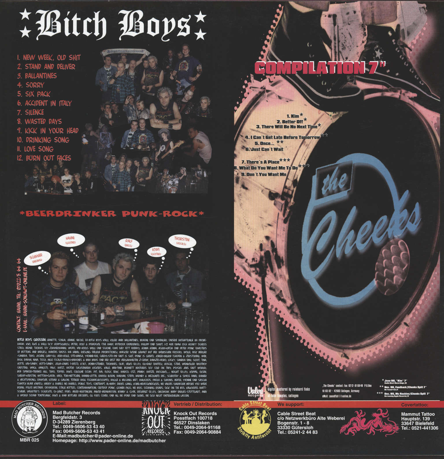 Bitch Boys: Clockwork Anthems Vol. 4, LP (Vinyl)