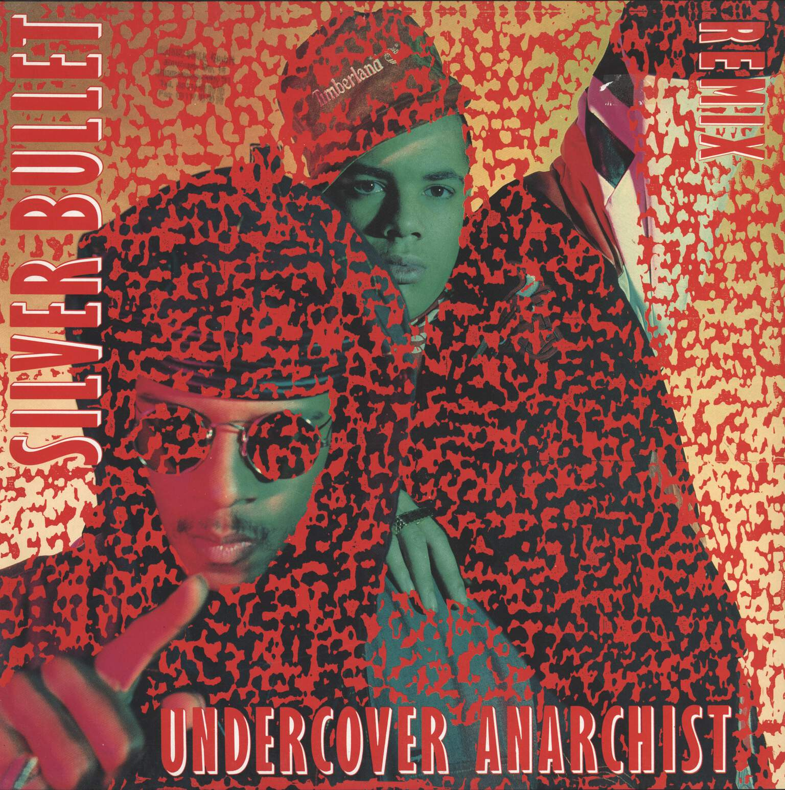 "Silver Bullet: Undercover Anarchist (Remix), 12"" Maxi Single (Vinyl)"
