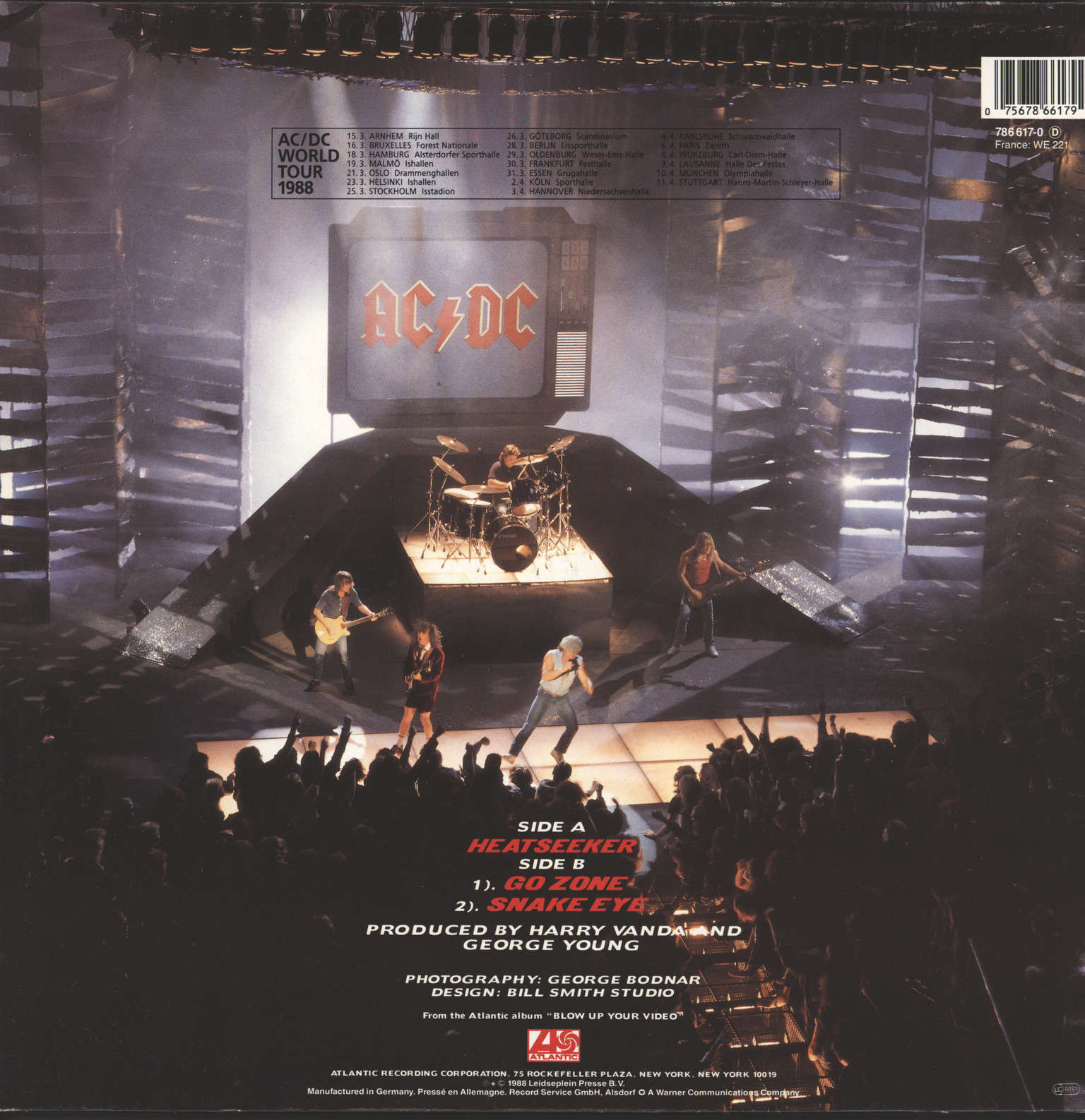 "AC/DC: Heatseeker, 12"" Maxi Single (Vinyl)"