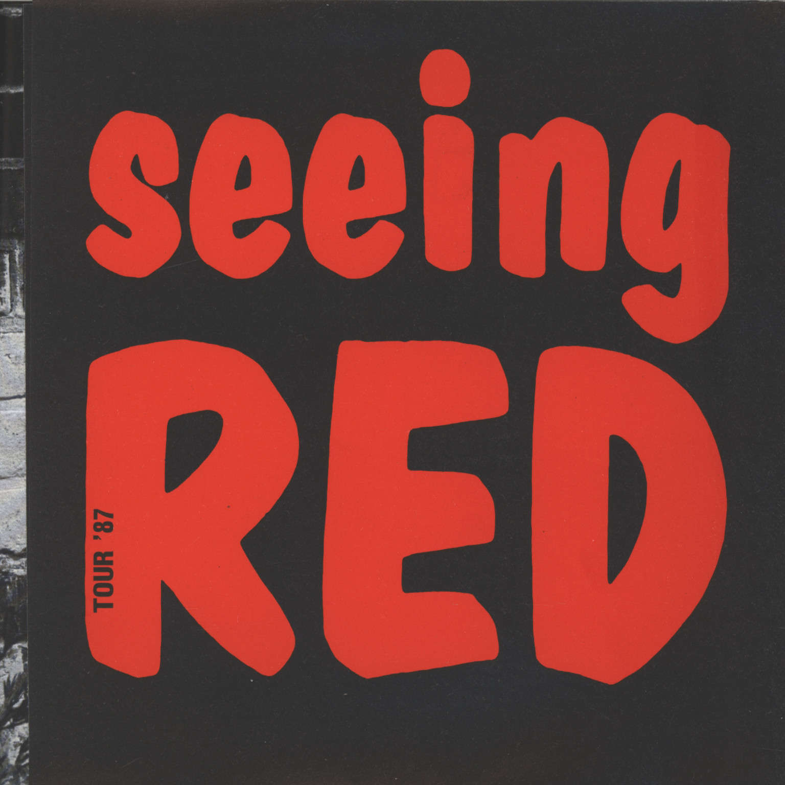 "Political Asylum: Seeing Red, 7"" Single (Vinyl)"