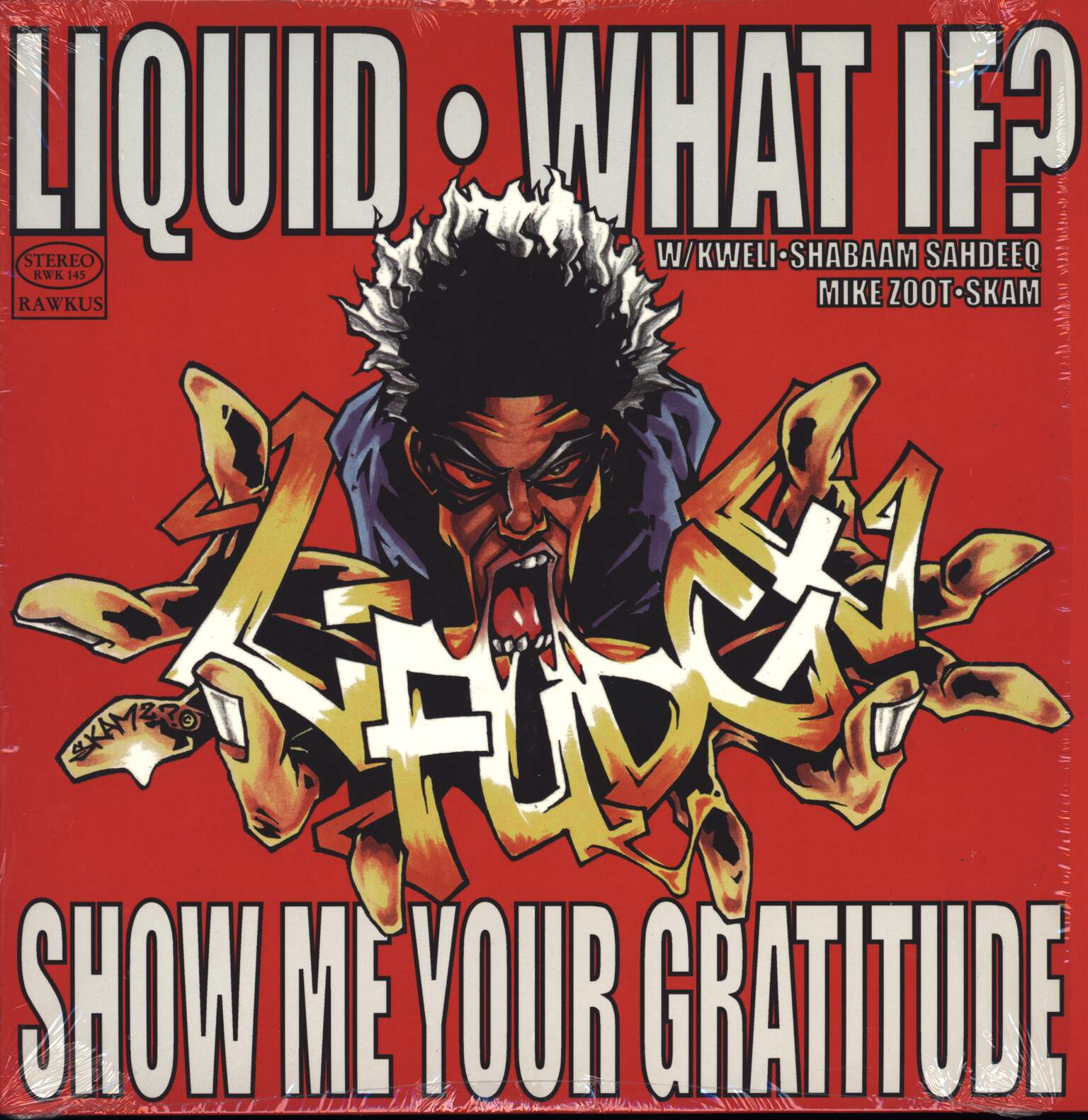 "L-Fudge: Liquid / What If? / Show Me Your Gratitude, 12"" Maxi Single (Vinyl)"