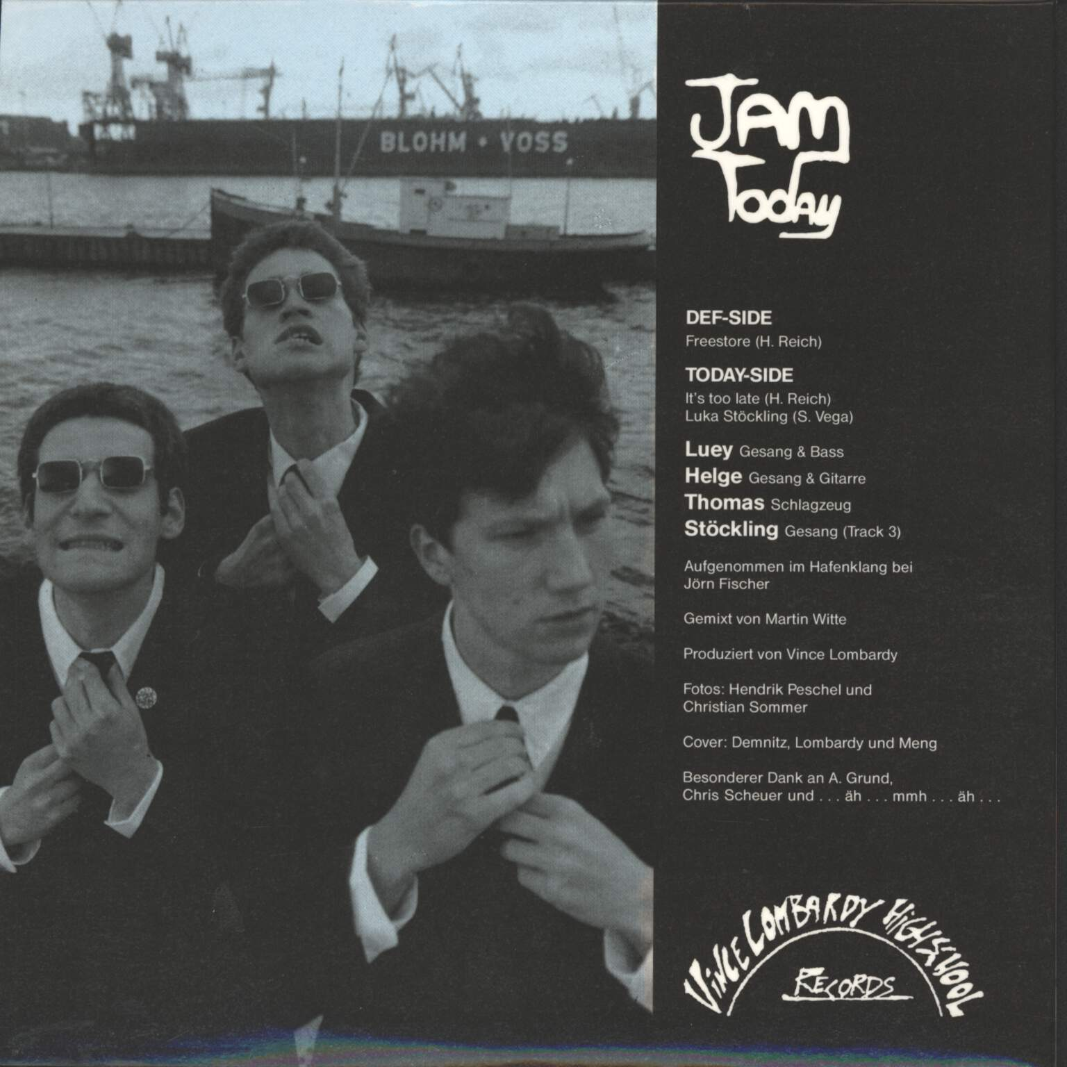 "Jam Today: Jam Today, 7"" Single (Vinyl)"