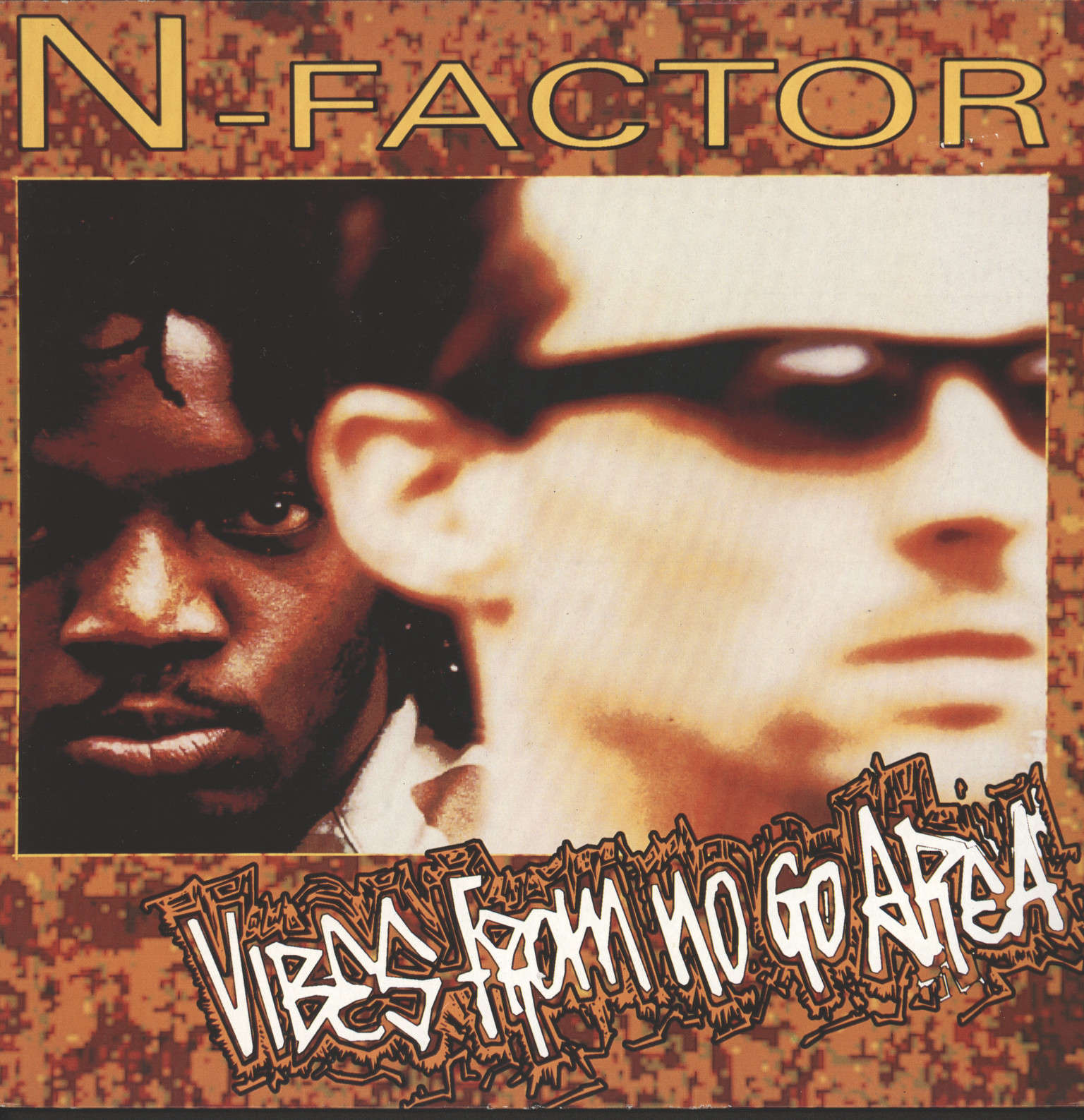 N-Factor: Vibes From No Go Area, LP (Vinyl)