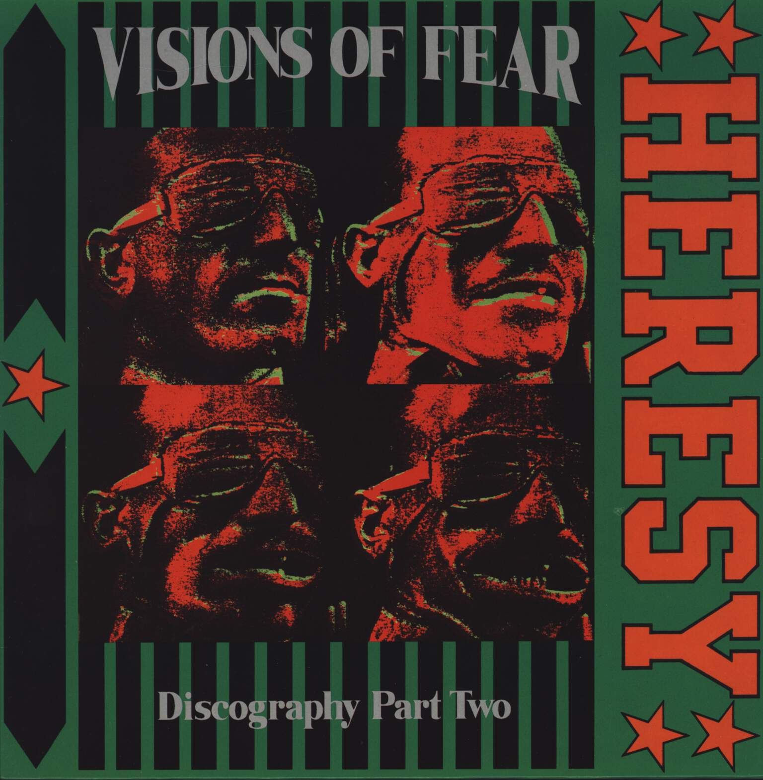 Heresy: Visions Of Fear (Discography Part Two), LP (Vinyl)
