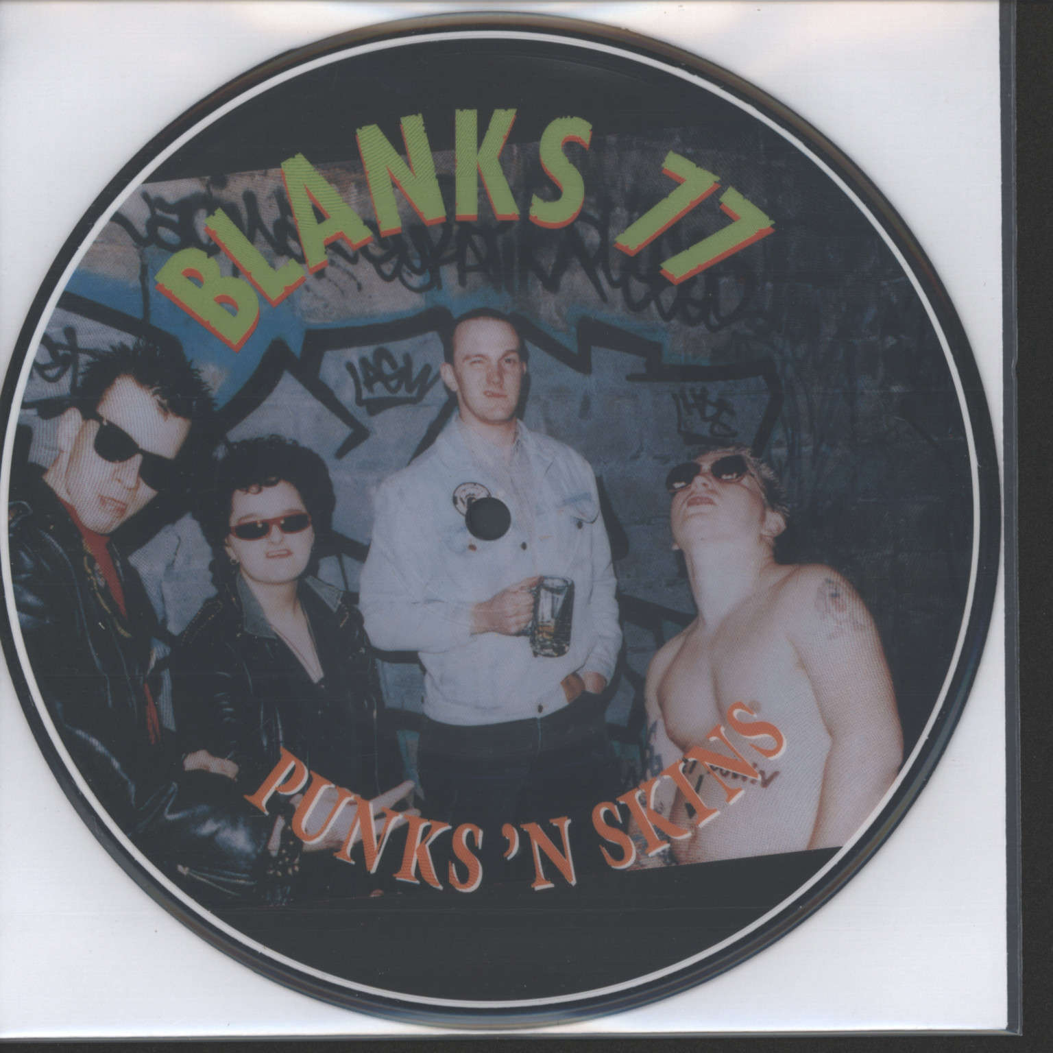 "Blanks 77: Punks 'N Skins, 7"" Single (Vinyl)"