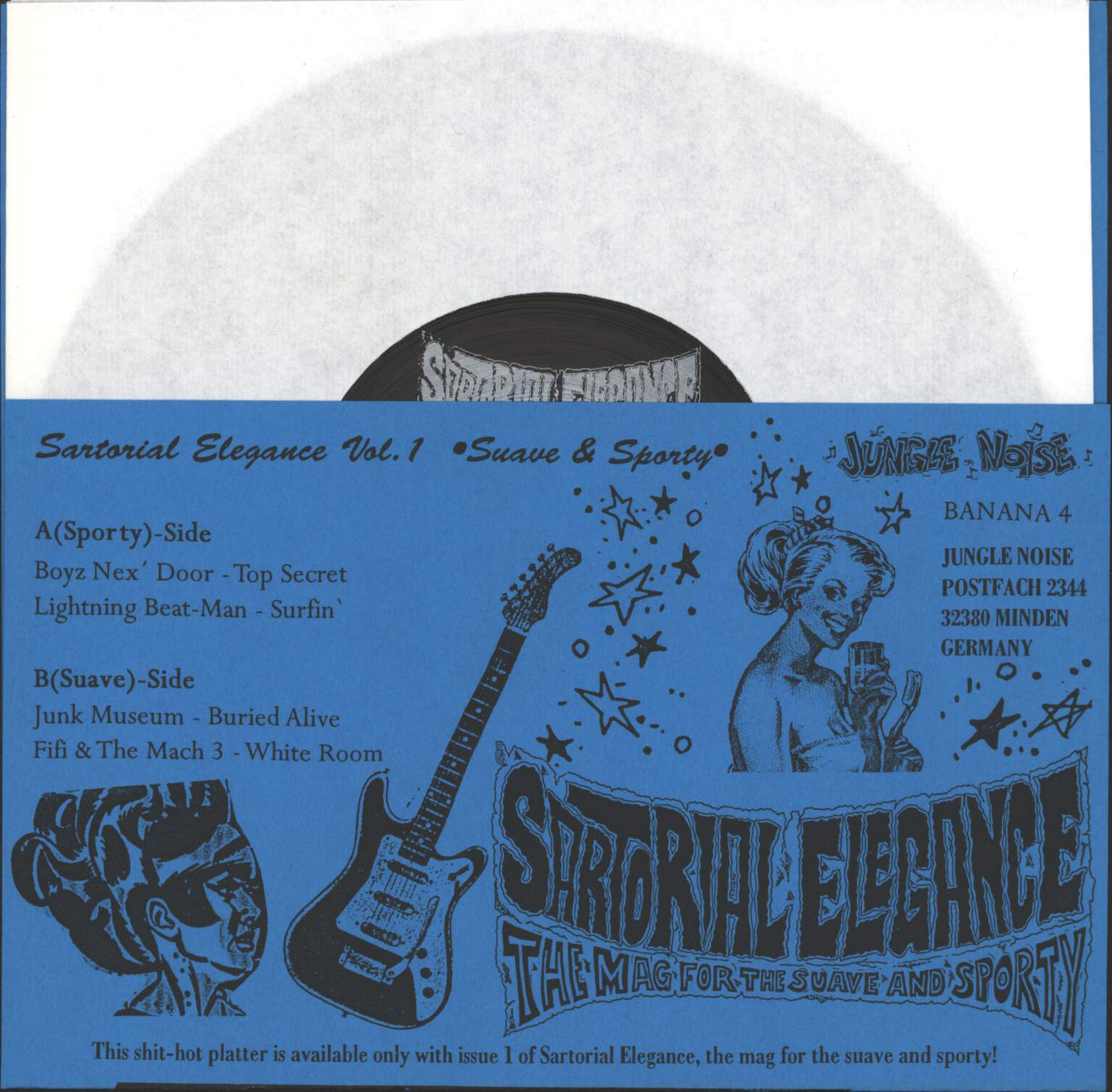 "Various: Sartorial Elegance Vol. 1 - Suave & Sporty, 7"" Single (Vinyl)"