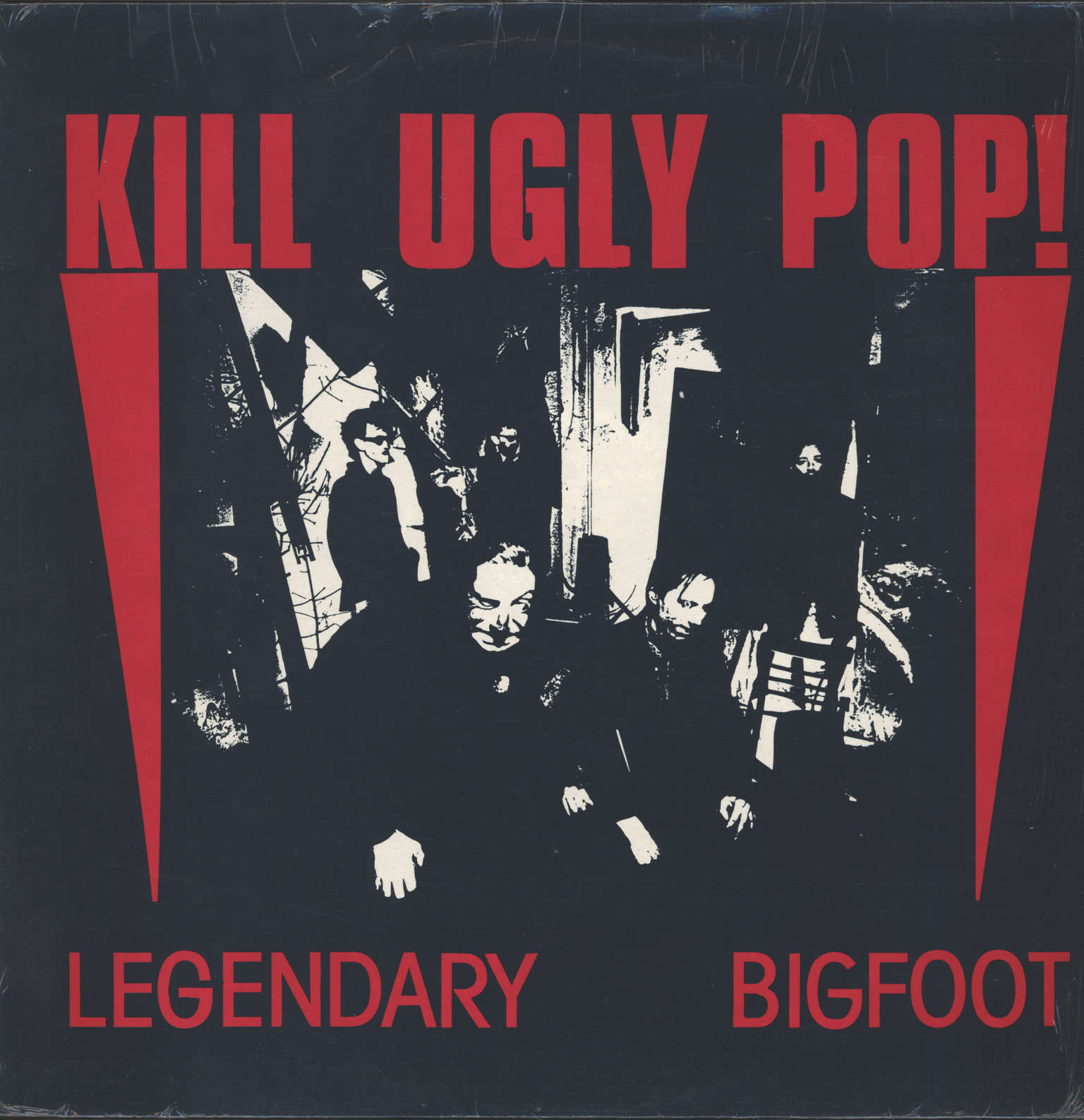 "Kill Ugly Pop: Legendary Bigfoot, 12"" Maxi Single (Vinyl)"
