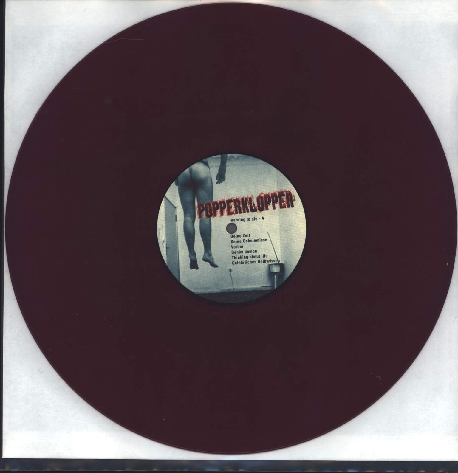 Popperklopper: Learning To Die, LP (Vinyl)