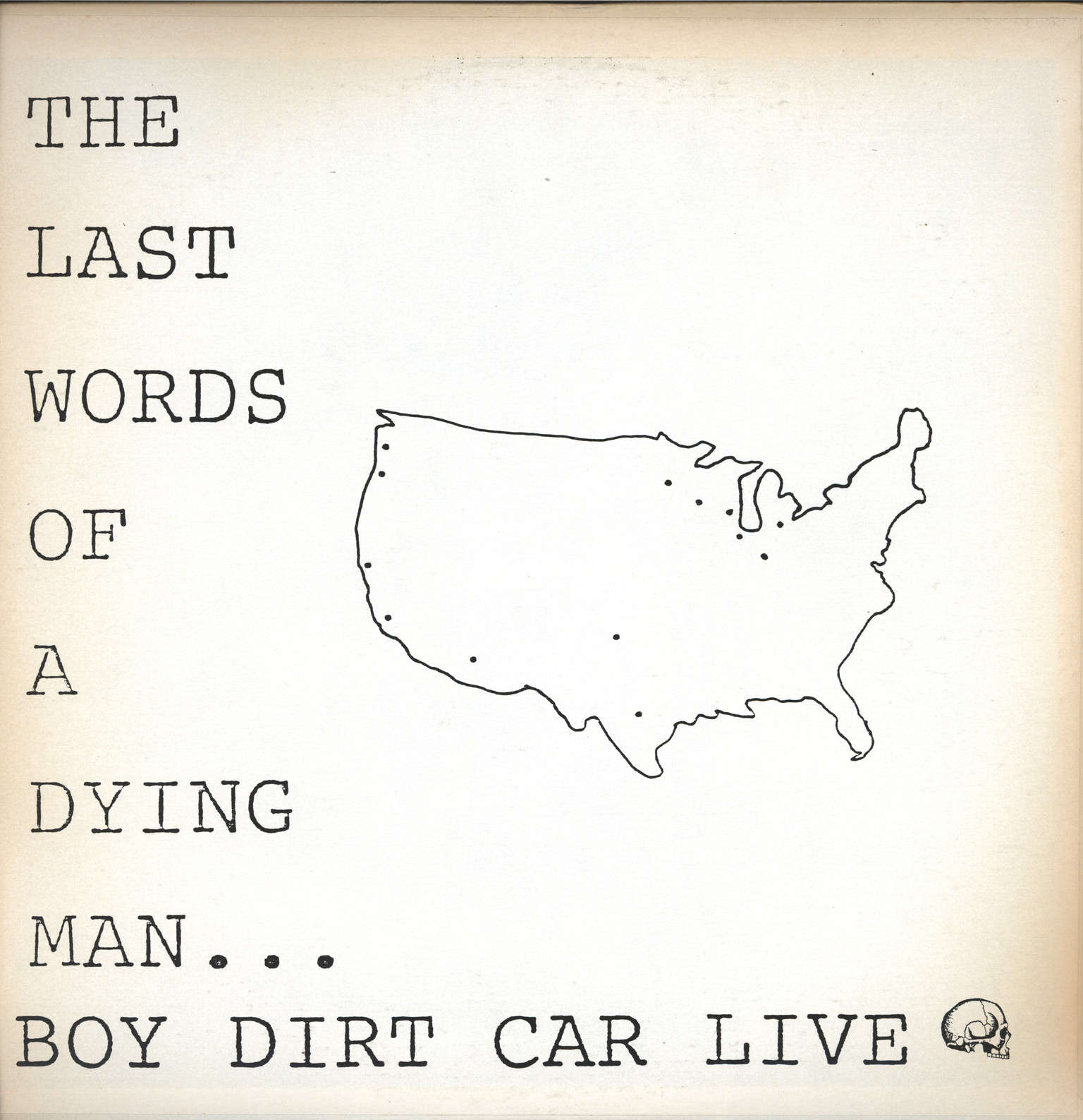 Boy Dirt Car: 1983-7 Live W/Out A Body, LP (Vinyl)