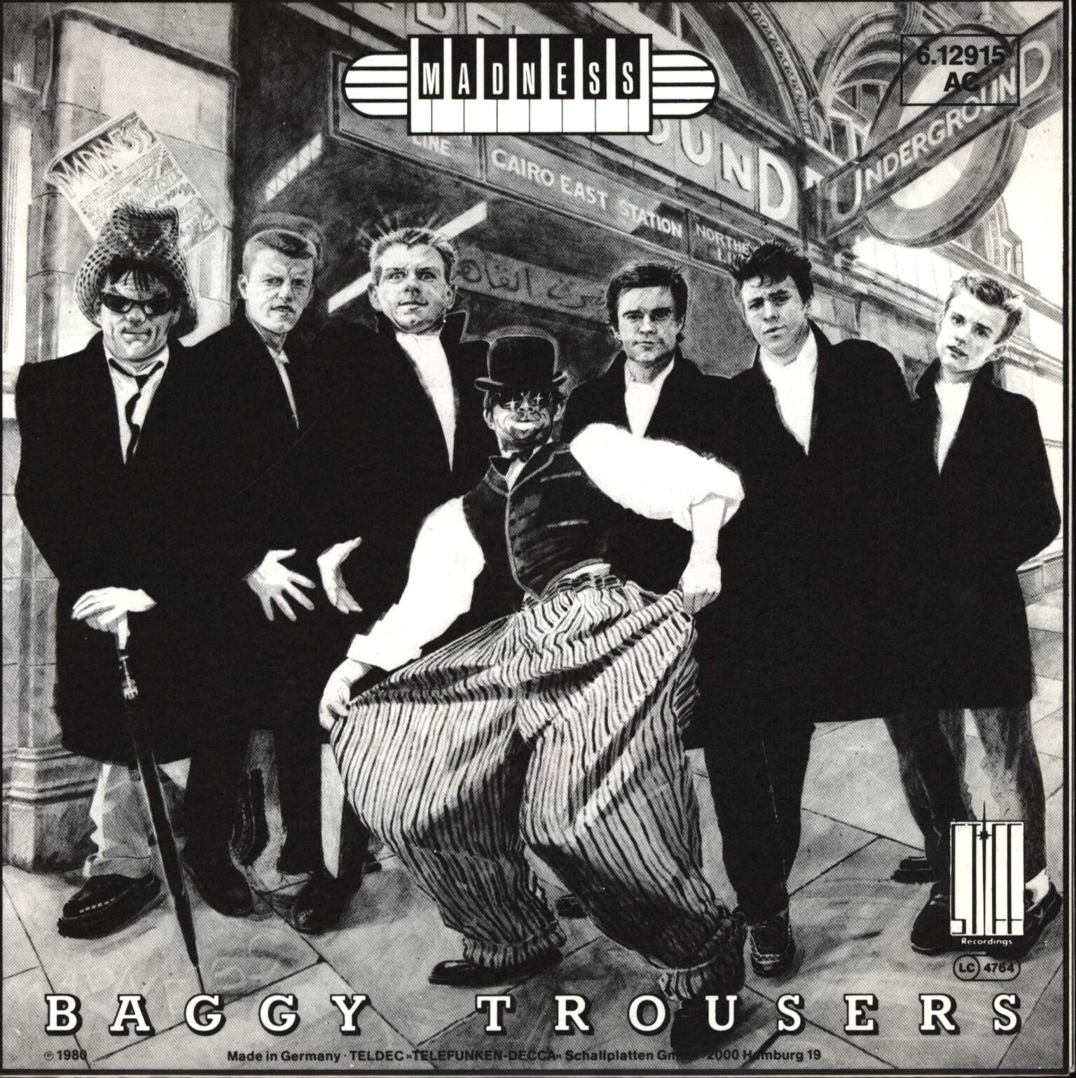 "Madness: Baggy Trousers, 7"" Single (Vinyl)"