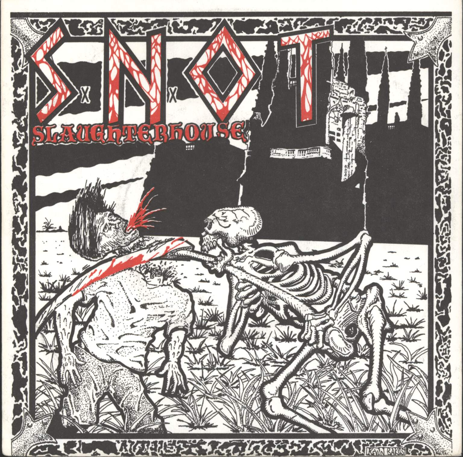 "S.N.O.T.: Slaughterhouse, 7"" Single (Vinyl)"