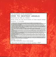 Coil: How To Destroy Angels