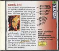 Béla Bartók: Music For Strings, Percussion And Celesta / Concerto For Orchestra