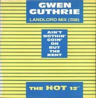 Gwen Guthrie: Ain't Nothin' Goin' On But The Rent