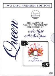 Queen: The Making Of Plus 30th Anniversary DVD Edition Of A Night At The Opera