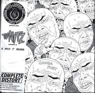 "Conga Fury / The Nitz: A Split 7"" Record"