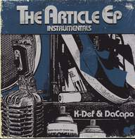 K-Def / DaCapo: The Article EP Instrumentals