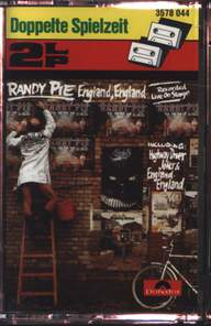 Randy Pie: England, England (Recorded Live On Stage)