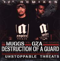 DJ Muggs/GZA: Destruction Of A Guard (DJ Khalil Remix) / Unstoppable Threats (DJ Solo Remix)
