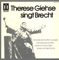 Therese Giehse: Therese Giehse Singt Brecht