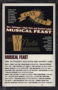 Various: Musical Feast: Mrs. Pottinger's High Note And Gayfeet Label