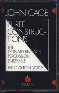 John Cage: Three Constructions