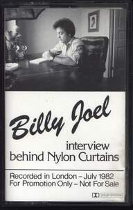 Billy Joel: Interview Behind Nylon Curtains