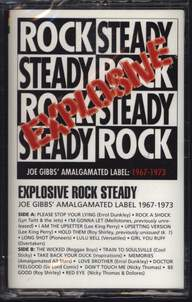 Various: Explosive Rock Steady - Joe Gibbs' Amalgamated Label 1967-1973
