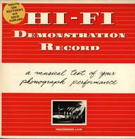 Hi-Fi (2): Demonstration Record