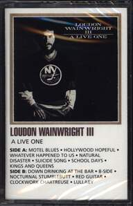 Loudon Wainwright III: A Live One