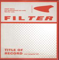 Filter (2): Title Of Record