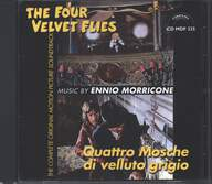 Ennio Morricone: Quattro Mosche Di Velluto Grigio / The Four Velvet Flies (Original Soundtrack)