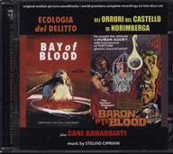 Stelvio Cipriani: Ecologia Del Delitto / Gli Orrori Del Castello Di Norimberga / Cani Arrabbiati (Original Motion Picture Soundtracks / World Premiere Complete Recordings On Two Discs Set)