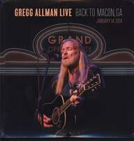 Gregg Allman: Live: Back To Macon, GA